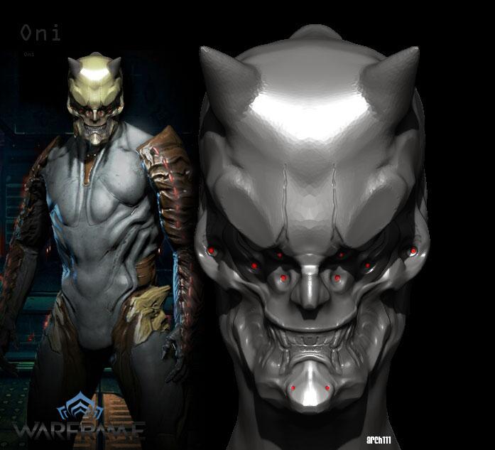 Oni Concept WIP (Ash alt helmet) by gaber111