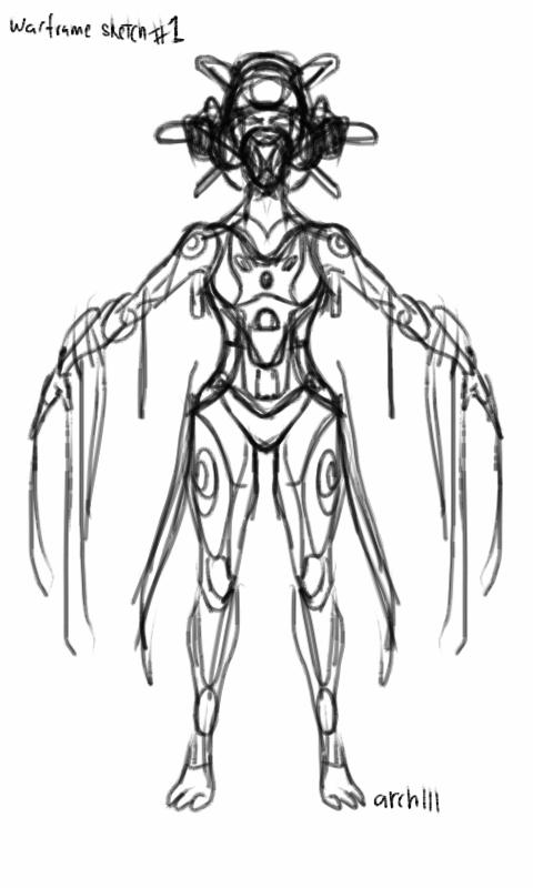 warframe sketch imperium by gaber111