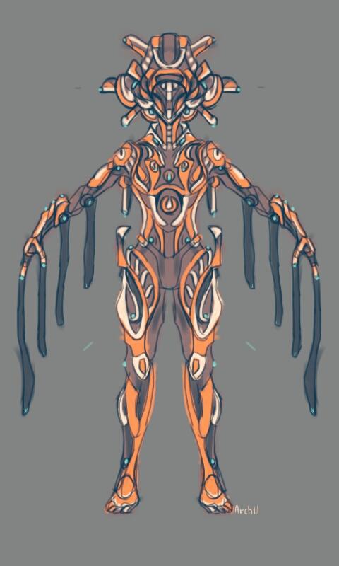 Imperium Warframe concept art by gaber111