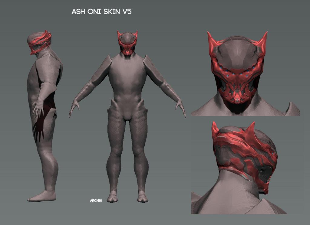 Ash ONI helmet v5 by gaber111