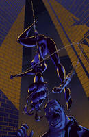 ultimate_spiderwoman by linemonkey