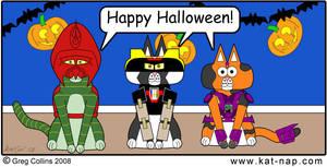 Kat-Nap Halloween Comic 2008