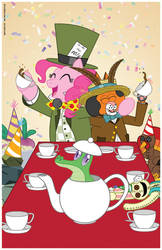 Mad Tea Party of Two