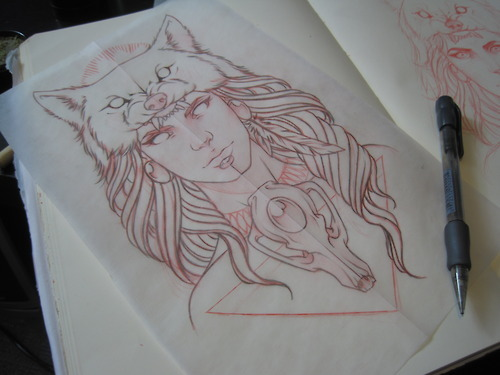 Princess Mononoke Inspired by ElfEupraxia