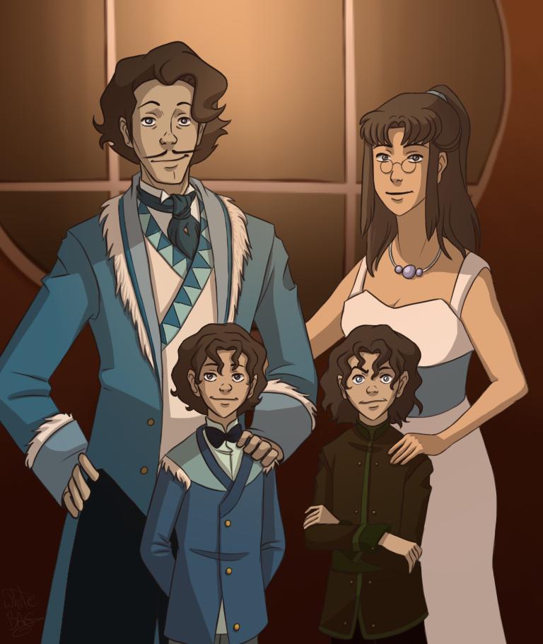 The Varrick Family Photo by WhiteBAG