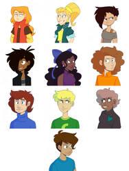 The Main Nine (and Thomas)