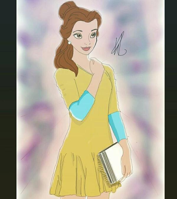Modern Belle by KhamPromotes727 ... & Modern Belle by KhamPromotes727 on DeviantArt
