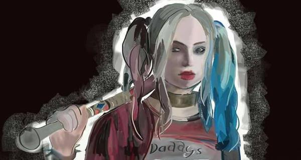 Harley Quinn Fanart by KhamPromotes727