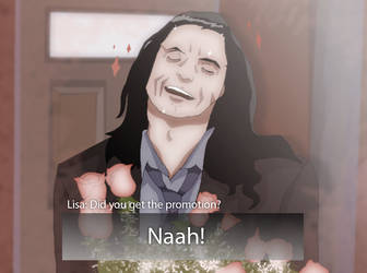 The Room (Tommy Wiseau) Dating Sim by Iceimp