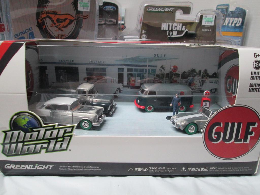 Greenlight Motor World Gulf Raw Green Machine Find By
