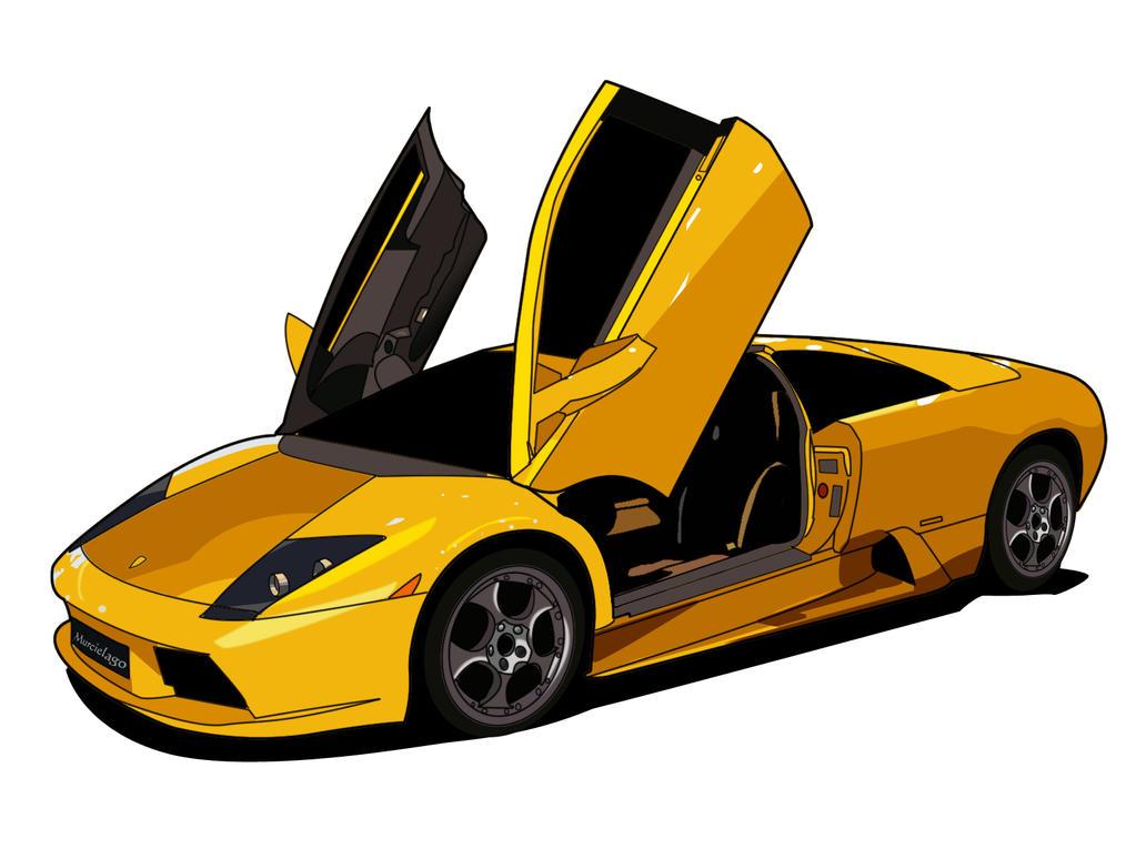 Lamborghini Murcielago by phoenix910 on DeviantArt