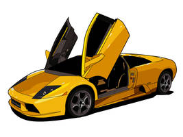 Lamborghini Murcielago by phoenix910