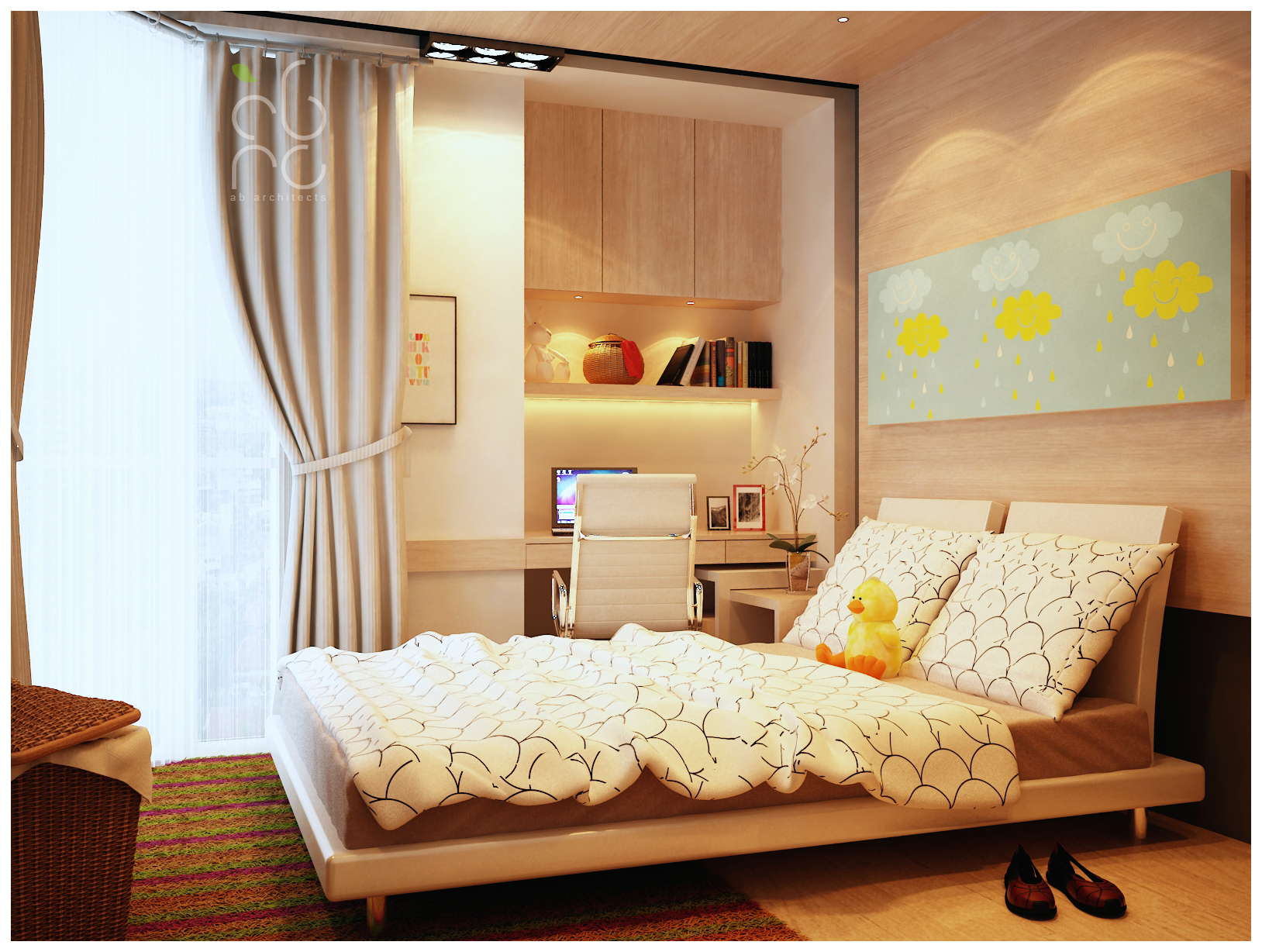 kamar anak wanita by okamiammaterasu on deviantart