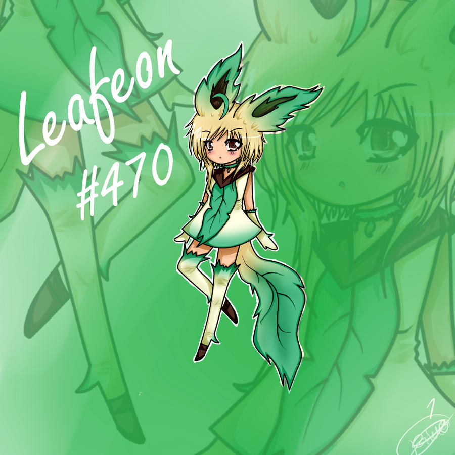 Human Form: Leafeon by...