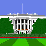 White House by Morggehan