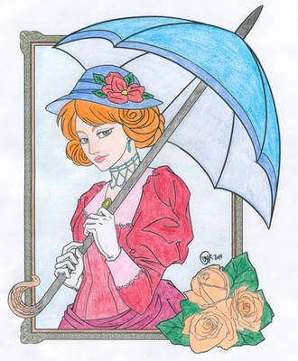 Victorian Lady - Colored by uglygosling
