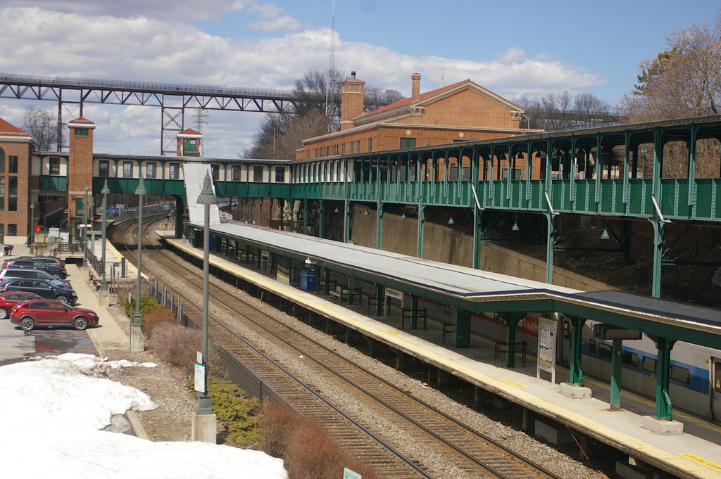 Exterior: Poughkeepsie Station Trackside By Uglygosling On DeviantArt