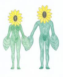 Human Plant Couple