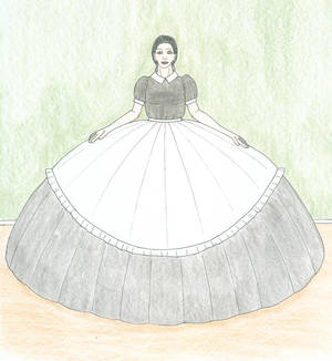 A Not Very Practical Maid's Dress But...