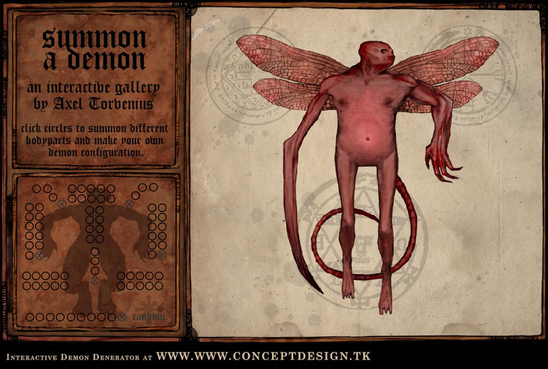 Demon Generator by torvenius