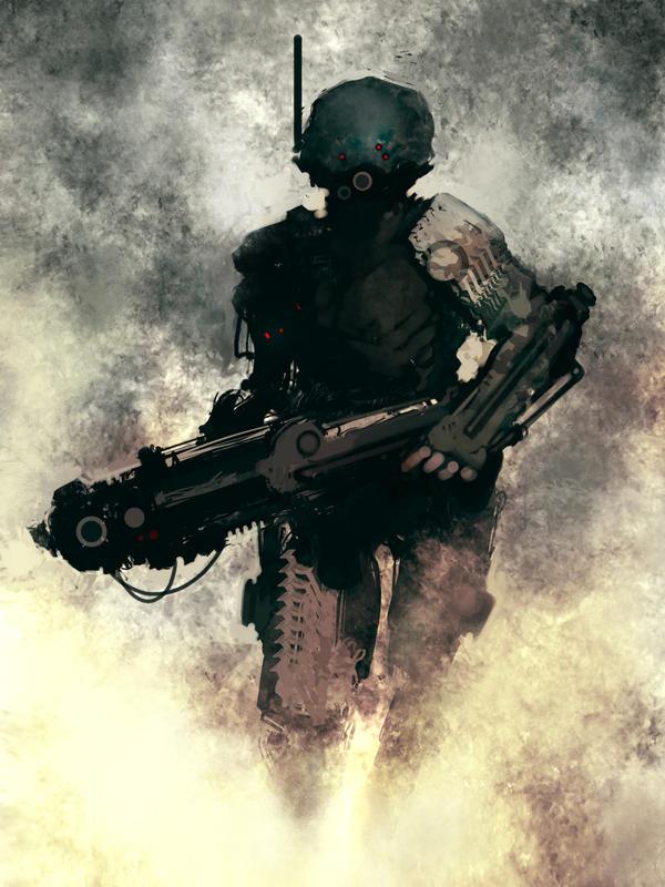 Storm soldier by torvenius