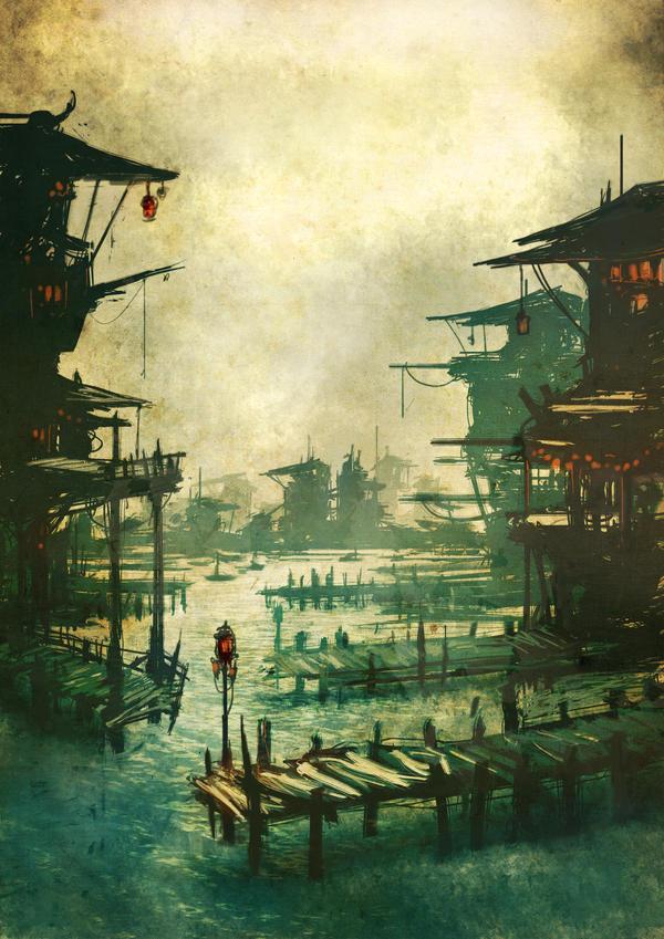 Harbour by torvenius