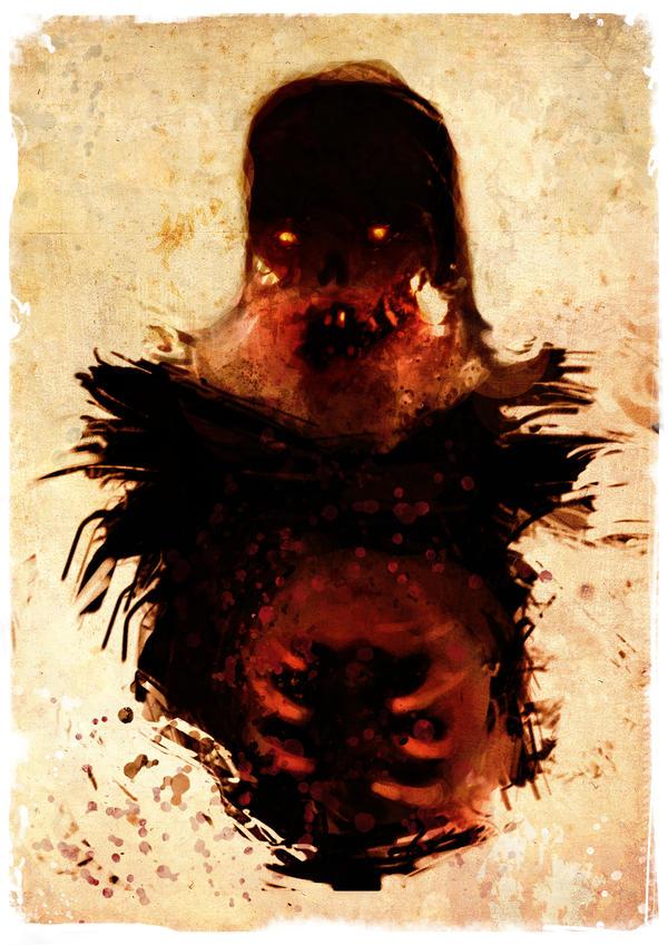 Chewbacca ZOMBIE by torvenius