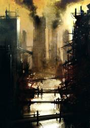Broken City Standing by torvenius