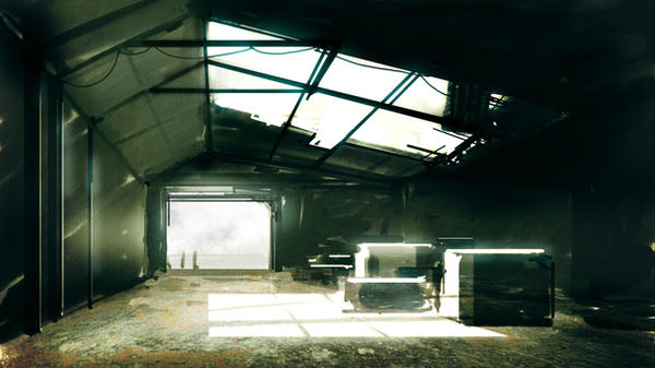 Warehouse speed painting by torvenius