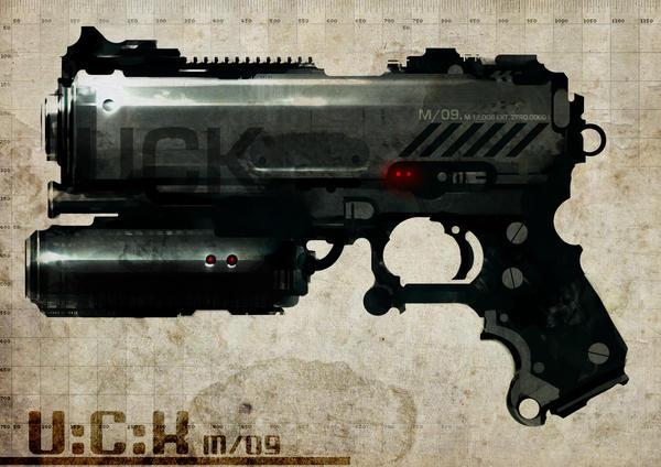 U:C:K gun concept by torvenius
