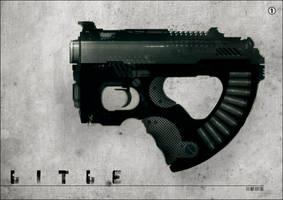 GUN speed paint L I T L E