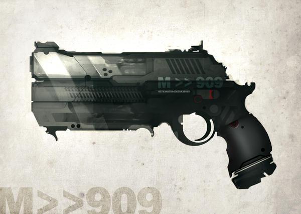 GUN speed paint M 909 by torvenius