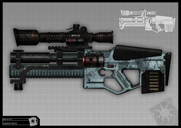 RIDDICK Sniper concept by torvenius