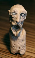 super sculpy zombie head 02 by torvenius