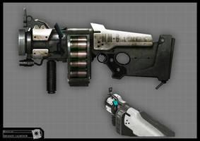 Concept Riddick - Gr. Launcher by torvenius