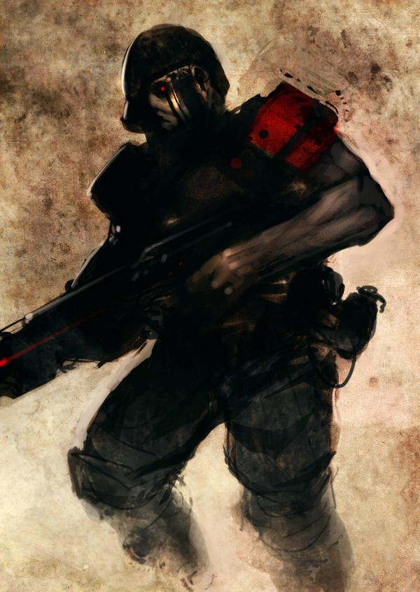Speed paint soldier by torvenius