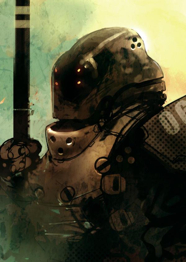 Speed paint mech knight 20 min by torvenius