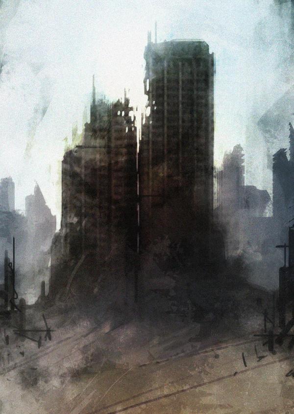 Speed paint dead city by torvenius