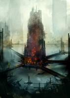 Speed paint city by torvenius