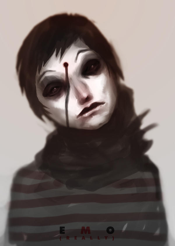 Speed paint EMO 20 min by torvenius