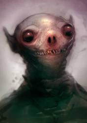 Speed paint cute alien 19 min by torvenius