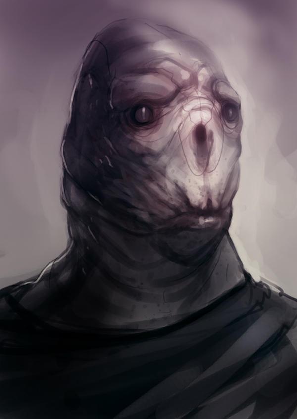 Speed paint sad alien 2o min