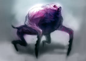Speed paint crab dog by torvenius