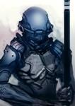 Speed painted salamander armor