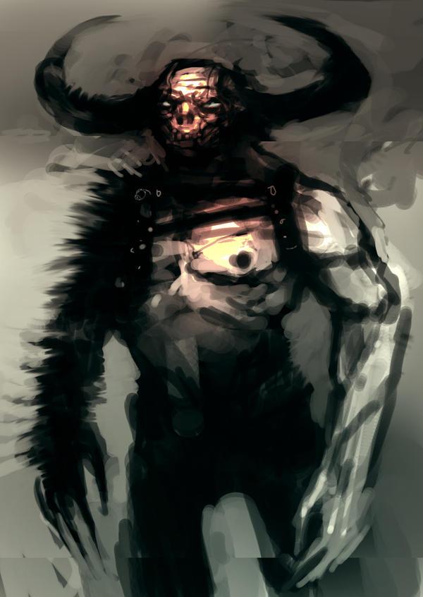 Speed painted war demon by torvenius