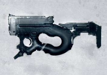 Speed painted SMG light by torvenius