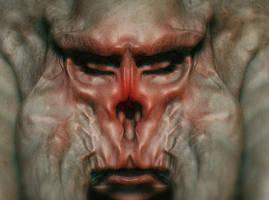 Monkeh demon - zbrush test