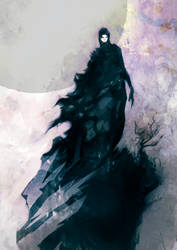 Speed painted dark wizard by torvenius