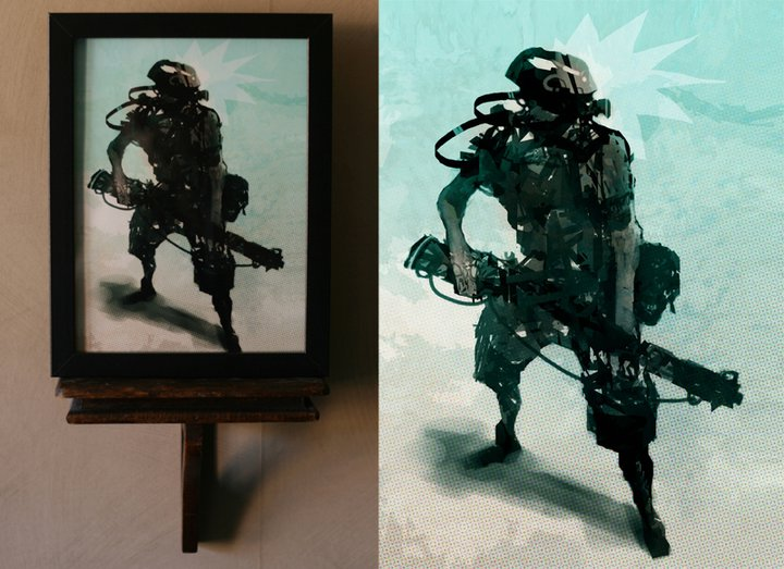framed print 05 by torvenius