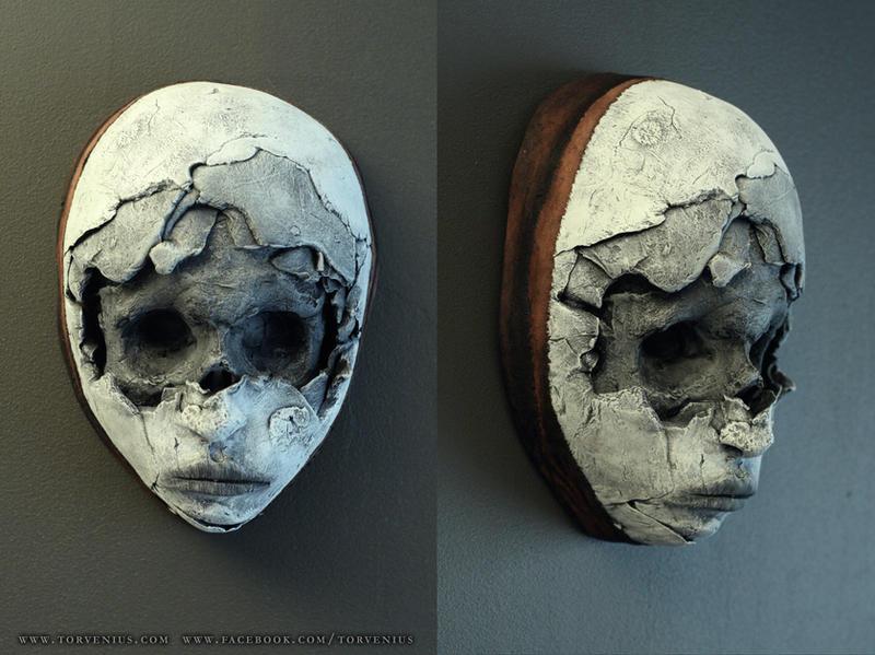 """new masks - """"skull face"""" by torvenius"""